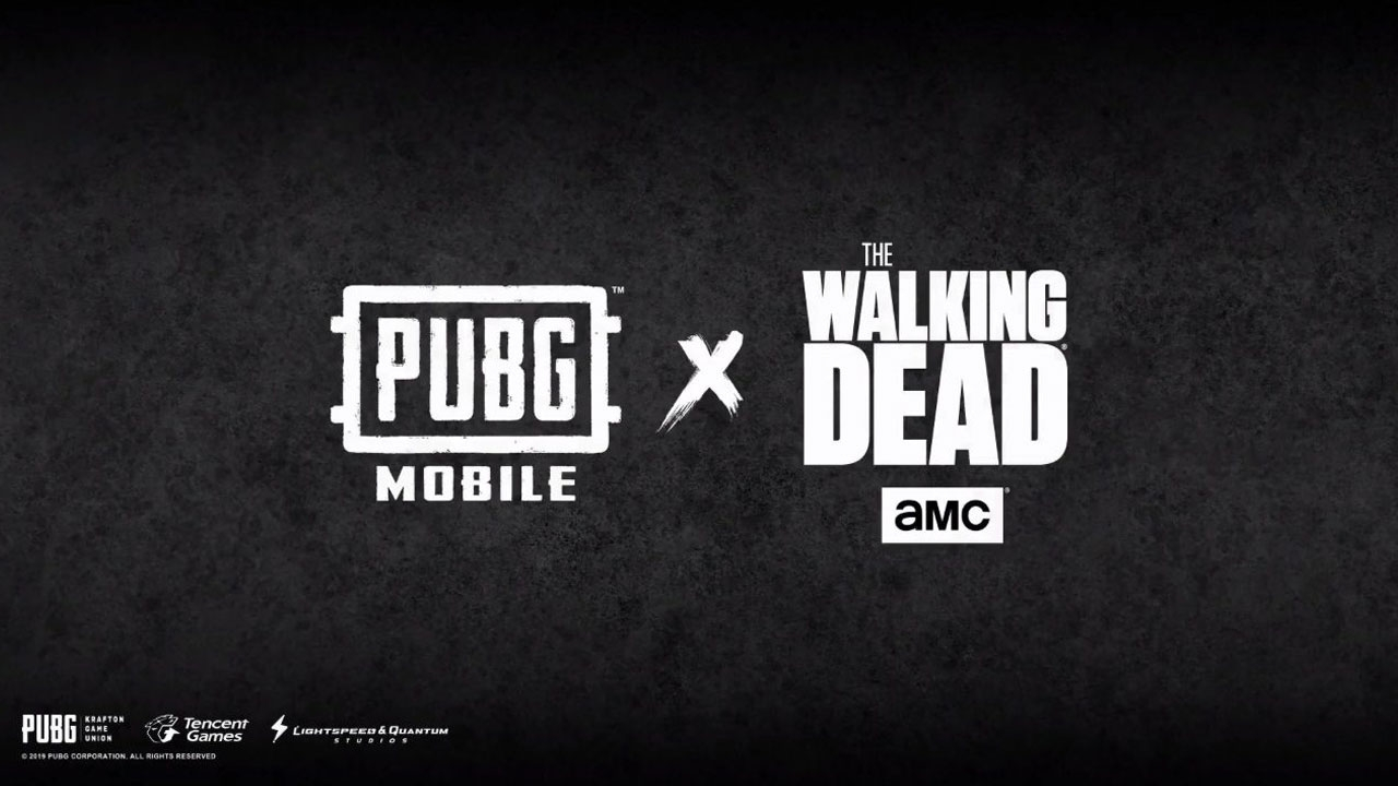 PUBG Mobile x The Walking Dead.