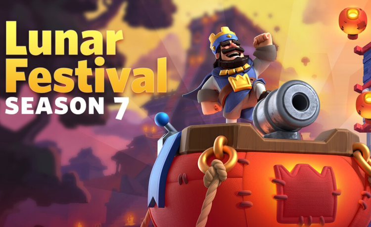 Lunar Festival Clash Royale Season 7
