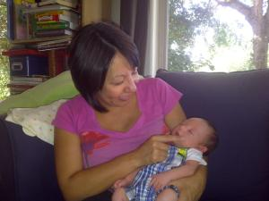 Gabriela and her son