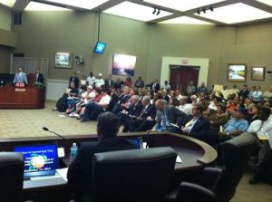 Orange County, Flordia Commission meeting on 9-11-12 (Joe Ruble)