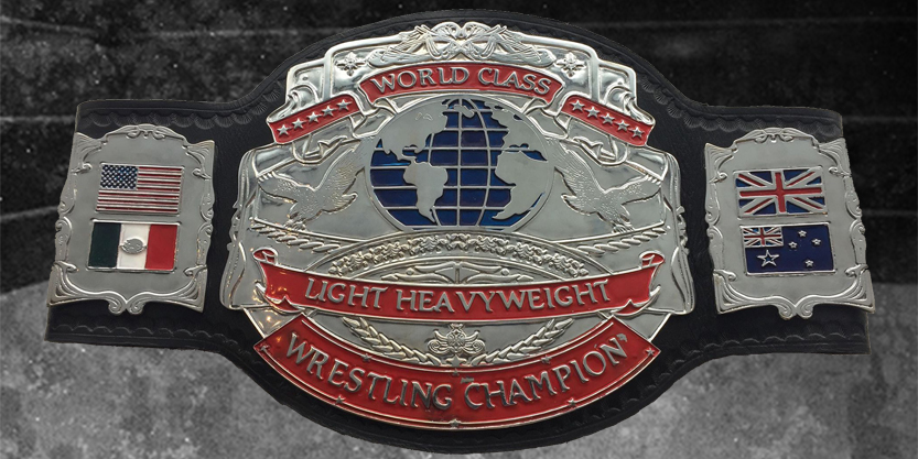 WAW World Light Heavyweight Championship Belt
