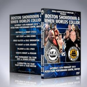 Boston Showdown 4 DVD