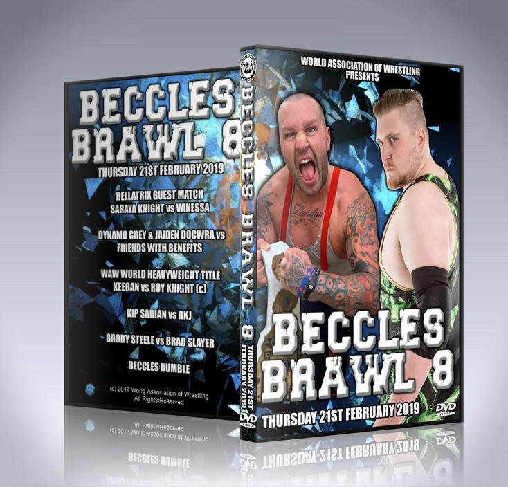 Beccles Brawl 8 DVD