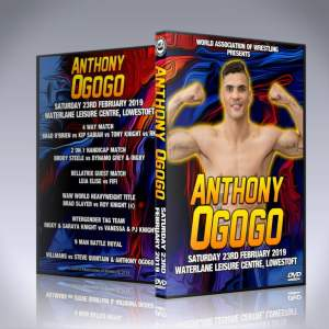 Anthony Ogogo Wrestling Debut DVD