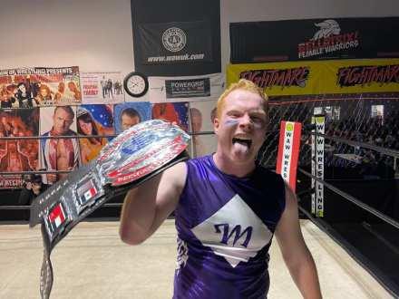 Marvel Marcus World Light Heavyweight Champion