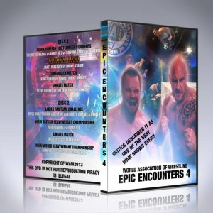 WAW Epic Encounters 4 DVD