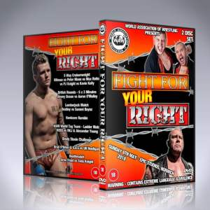WAW Fight For Your Right DVD