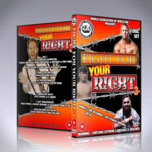 WAW Fight For Your Right 3 DVD