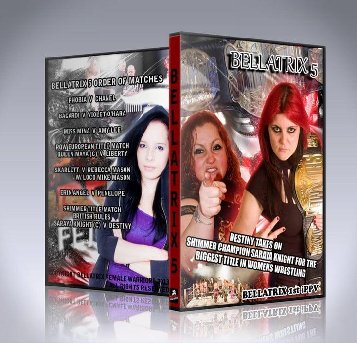 Bellatrix 5 DVD Cover
