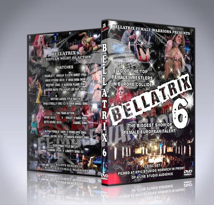 Bellatrix 6 DVD Cover