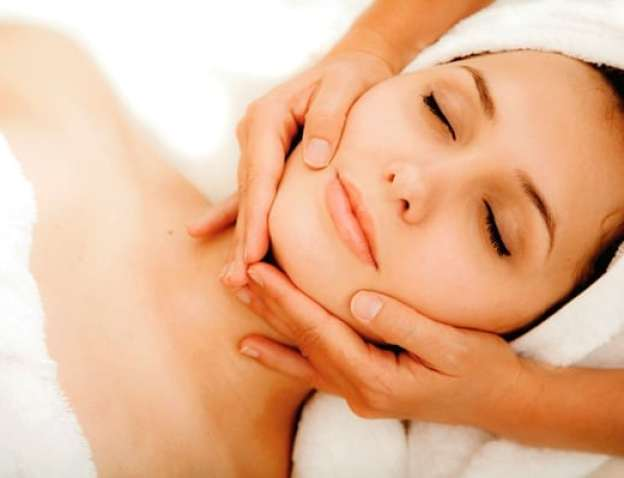 relaxing skin treatment