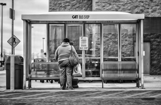scenes at the bus stop act 24