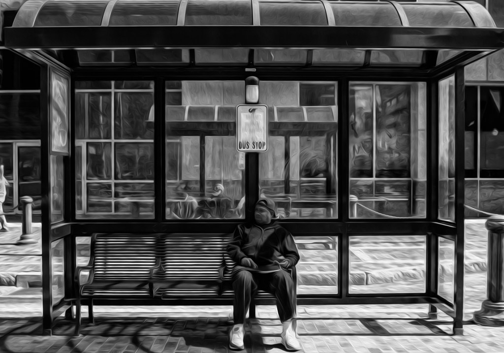 bus stop 44