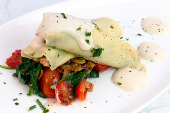 Lobster Crepes