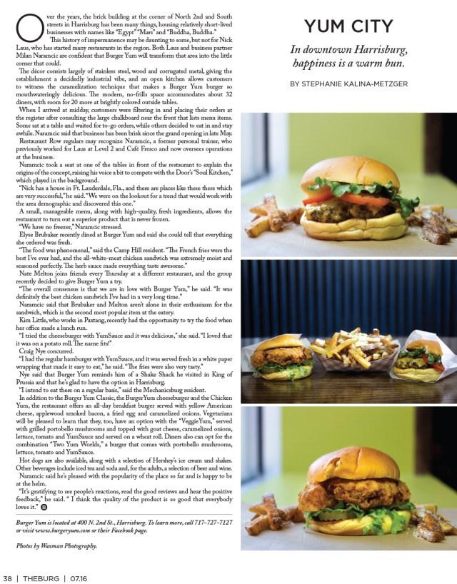 TheBurg burger yum
