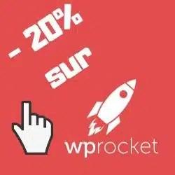 code promo - 20% sur wp rocket