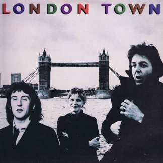 Wings – London Town – PAS 10012 - Includes Poster - LP Vinyl Record