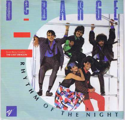 DeBarge – Rhythm Of The Night - Gordy TMG 1376 - 7-inch Vinyl Record