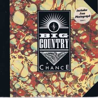 Big Country – Chance - COUNT 4 - 7-inch Vinyl Record