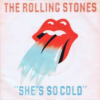 The Rolling Stones - She's So Cold - RSR 106 - 7-inch Record