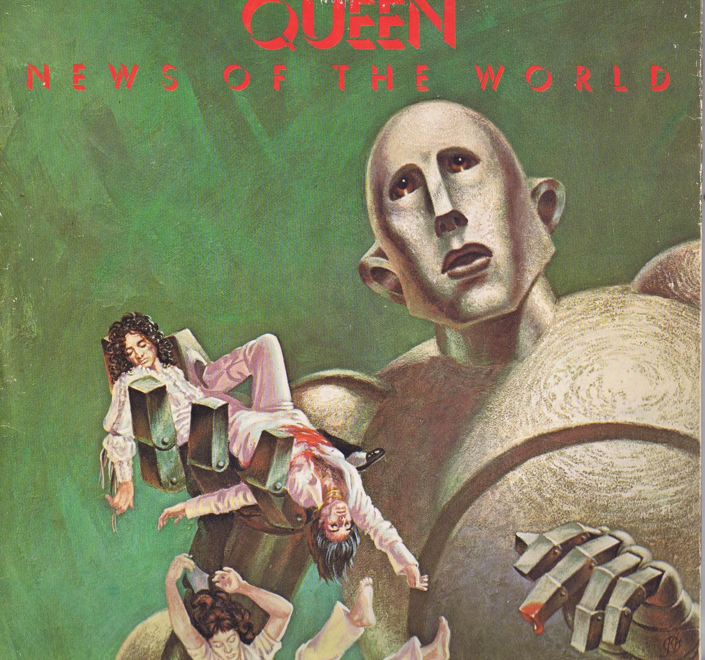 Queen News Of The World Ema 784 Lp Vinyl Record
