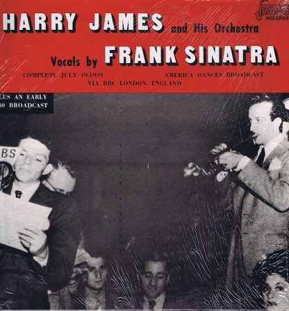 Harry James and His Orchestra - Vocals By Frank Sinatra - JASM 2514 - LP Vinyl Record
