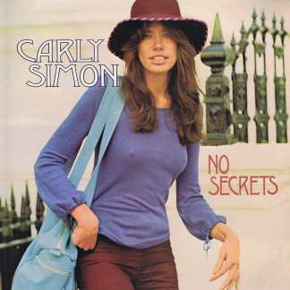Carly Simon - No Secrets - Elektra K42127 - LP Vinyl Record
