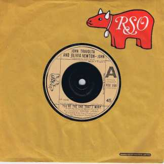 John Travolta & Olivia Newton-John - You're The One That I Want - 7-inch Record