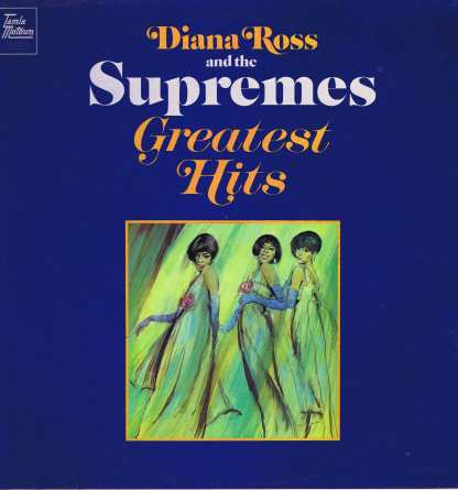 Diana Ross & The Supremes - Greatest Hits - STML 11063 - LP Vinyl Record