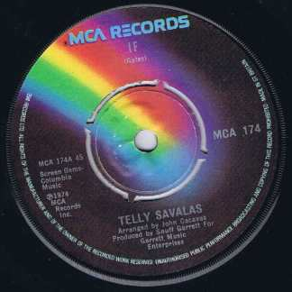 Telly Savalas – If - MCA 174 - 7-inch Vinyl Record