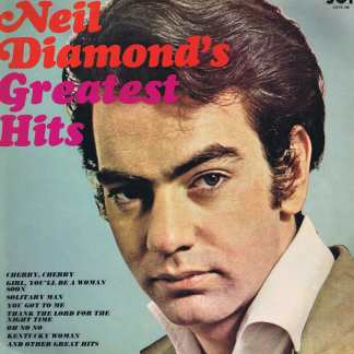 Neil Diamond - Neil Diamond's Greatest Hits - JOYS 188 - LP Vinyl Record
