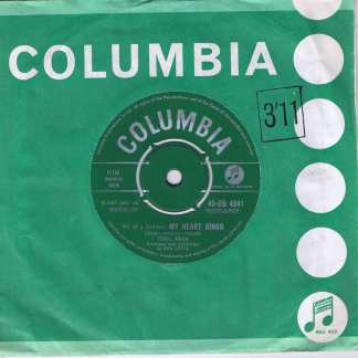 Paul Anka – (All Of A Sudden) My Heart Sings - 45-DB 4241 - 7-inch Vinyl Record
