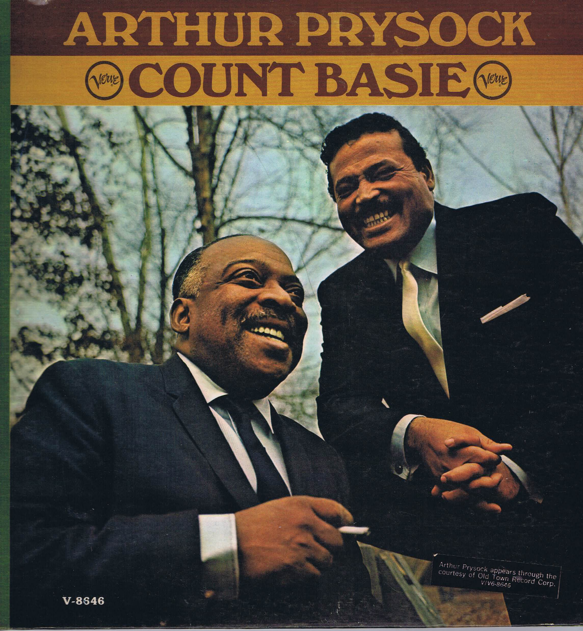 arthur prysock and count basie