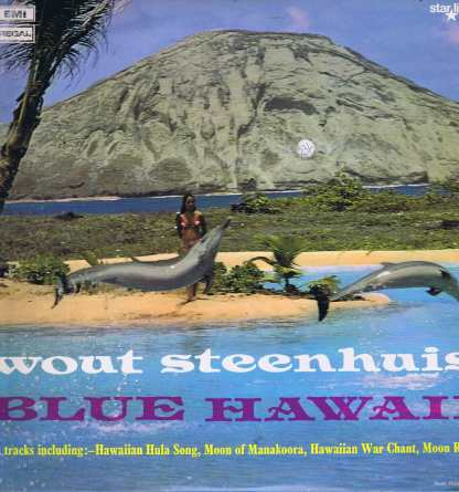 Wout Steenhuis - Blue Hawaii - SRS 5005 - LP Vinyl Record