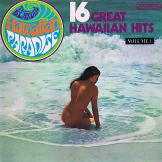 The Islanders – Hawaiian Paradise - Boulevard 4003 - LP Vinyl Record