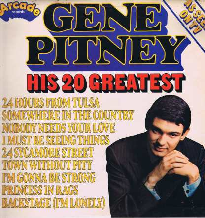 Gene Pitney - His 20 Greatest - ADE P 22 – LP Vinyl Record
