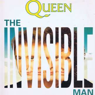 Queen - The Invisible Man - 12 QUEEN 12 – 12-inch Vinyl Record
