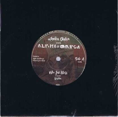 Alpha & Omega Feat. Nishka – Who Jah Bless - Indica Dubs ‎ISS034 - 7-inch Record
