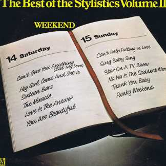 The Stylistics – The Best Of The Stylistics Volume II - 9109 010 - LP Vinyl Record