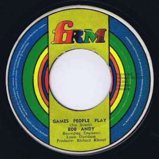 Bob Andy – Games People Play - FRM - 7-inch Vinyl Record