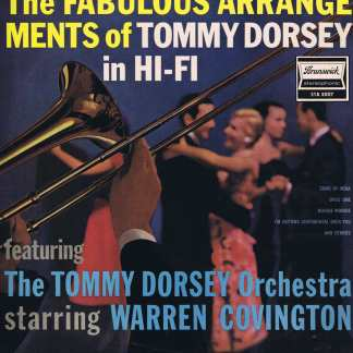 The Fabulous Arrangements Of Tommy Dorsey In Hi-Fi - STA 3007 - LP Vinyl Record