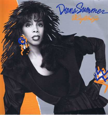 Donna Summer - All Systems Go - WX 130 - LP Vinyl Record