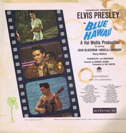 Elvis Presley – Blue Hawaii – RD-27238 - LP Vinyl Record