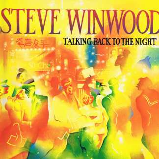 Steve Winwood – Talking Back To The Night - ILPS 9777 – LP Vinyl Record
