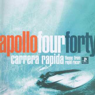 Apollo Four Forty - Carrera Rapida - Ridge Racer - SSX8T - 12-inch Vinyl Record
