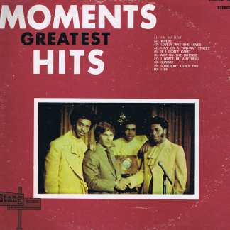Moments - Greatest Hits - STANG 1004 – Signed LP Vinyl Record