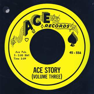 Ace Story Volume Three - CH 55 – LP Vinyl Record