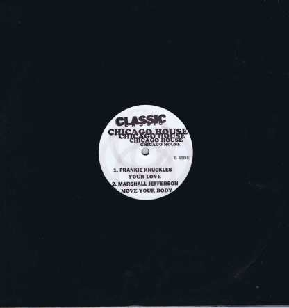 Various – Classic Chicago House Vol. 1 - 12-inch Vinyl Record