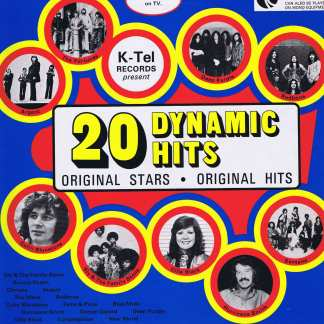 Various Artists - 20 Dynamic Hits - K-Tel TE 292 - LP Vinyl Record