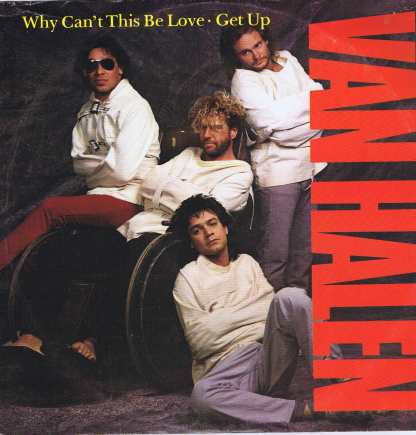 Van Halen – Why Can't This Be Love / Get Up - W8740T - 12-inch Vinyl Record